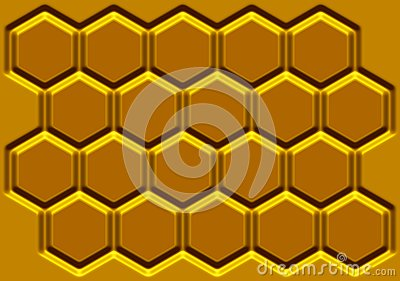 Honey honeycomb
