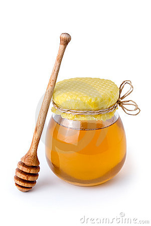 Free Honey Jar Royalty Free Stock Photo - 14800095