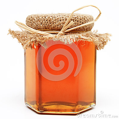 Free Honey Jar Royalty Free Stock Photography - 33703297