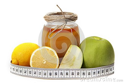 Honey lemon apple and meter