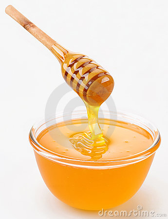 Free Honey Pouring Royalty Free Stock Image - 11691656