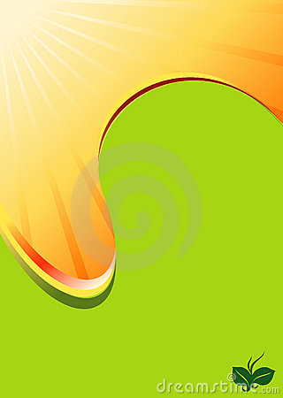 Honey Sun flow spot abstract background