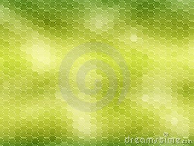 Honeycomb background: green