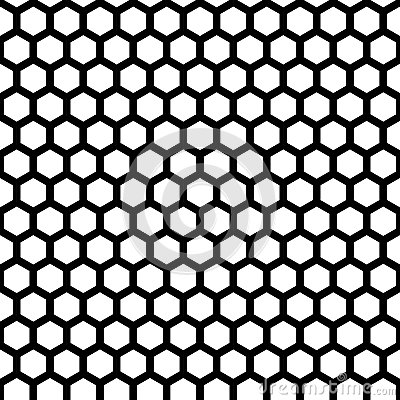 Free Honeycomb Seamless Pattern Royalty Free Stock Photos - 42340868