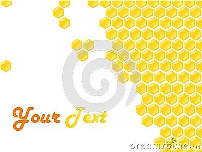 Honeycomb style frame