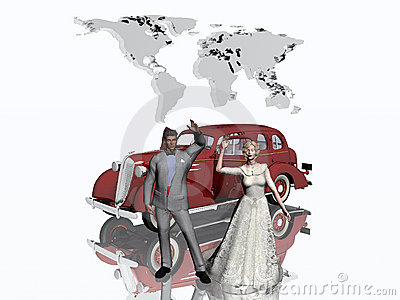 Honeymoon. Stock Photo - Image: 401460