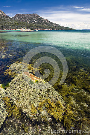 Honeymoon bay, Freycinet National Park, Tasmania, Australia