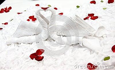 Honeymoon bed