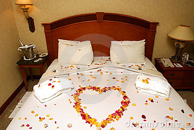 Honeymoon Bed Stock Photography - Image: 1888052