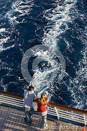 Free Honeymoon Cruise Stock Photography - 3644282