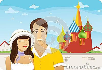 Honeymoon in Moscow
