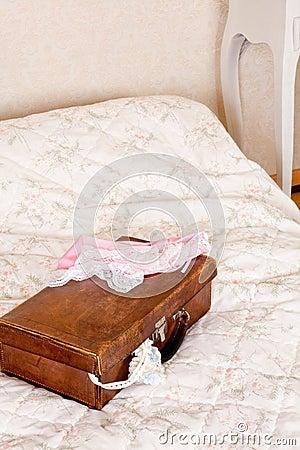 Honeymoon suitcase