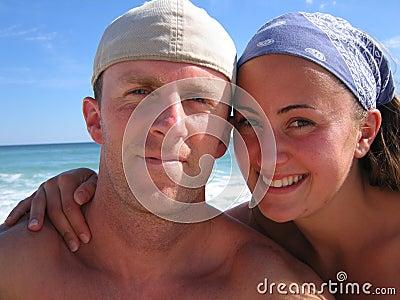 The Honeymooners Happy Young Couple