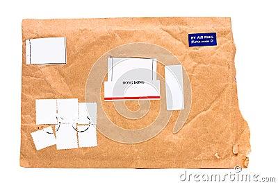 Hong Kong Air Mail single