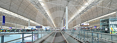 Hong Kong Airport Editorial Image
