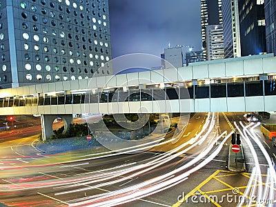 Hong Kong Amazing Traffic at Night