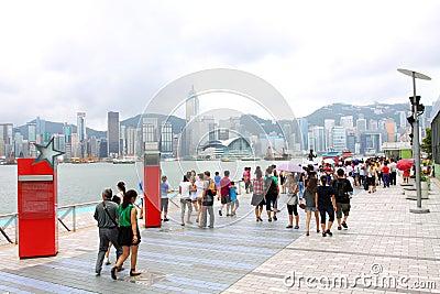 Hong Kong : Avenue of Stars Editorial Stock Image