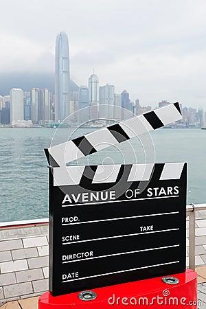 Hong Kong Avenue of Stars Editorial Image