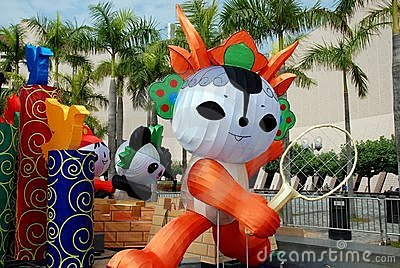 Hong Kong: Beijing 2008 Olympics Mascots Editorial Image