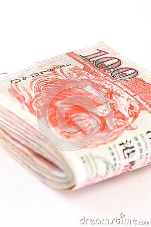 Hong Kong Cash Pile