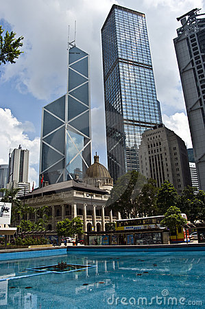 Free Hong Kong Central Royalty Free Stock Image - 10985756