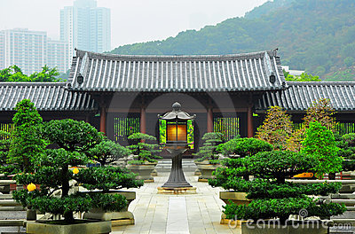 Hong kong : chi lin buddhist nunnery