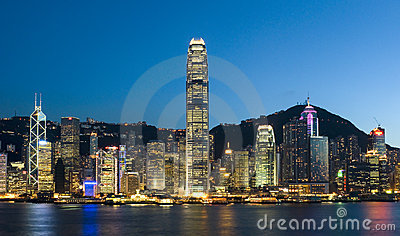Hong Kong City Editorial Stock Image
