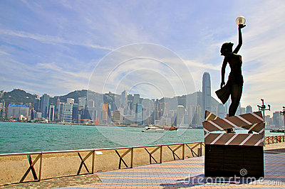 Hong Kong city Editorial Photography