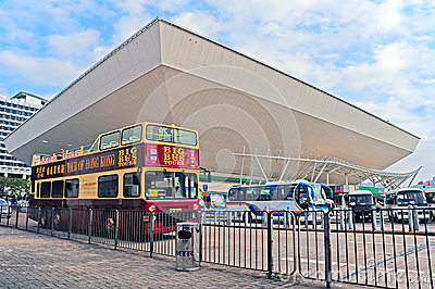 Hong kong coliseum Editorial Stock Photo