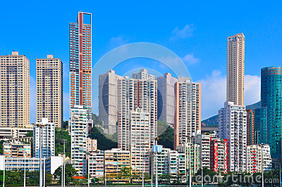 Hong kong commercial buildings