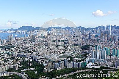 Hong Kong crowded city
