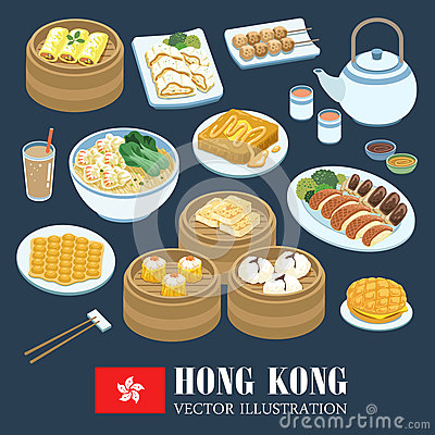 Free Hong Kong Cuisines Stock Photography - 61377592