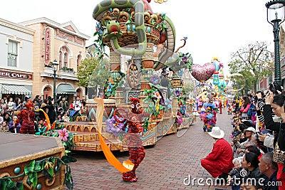 Hong Kong Disneylândia Imagem Editorial