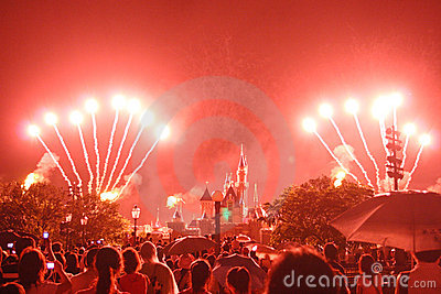 Hong Kong Disneyland Editorial Stock Photo
