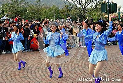 Hong Kong: Disneyland Grand Parade Editorial Image