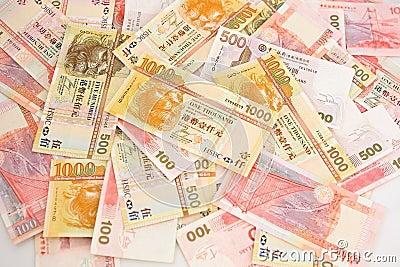 Hong Kong Dollar Cash Pile