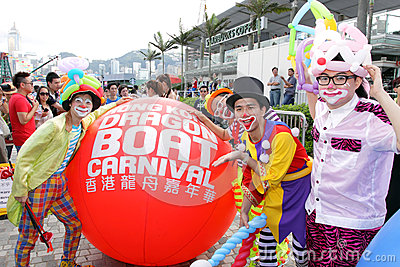 Hong Kong Dragon Boat Carnival 2012 Editorial Image