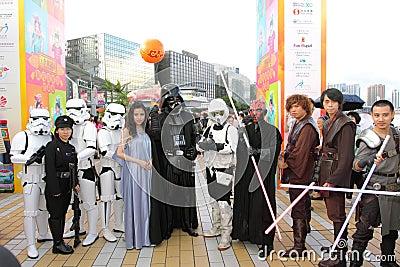 Hong Kong Dragon Boat Carnival 2012 Editorial Image