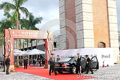 Hong Kong Film Awards Presentation Ceremony 2012 Editorial Photography