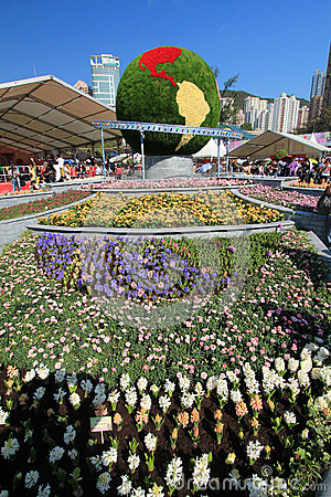Hong Kong Flower Show 2012 Editorial Stock Photo