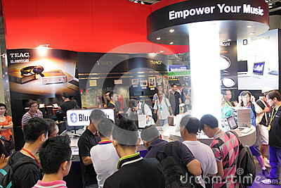 Hong Kong High-End Audio-Visual Show 2013 Editorial Photography