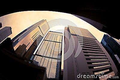 Hong Kong high rise buildings