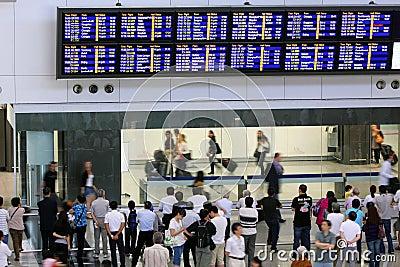 Hong Kong Int l Airport Editorial Image