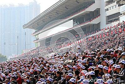 Hong Kong Int l Races 2011 Editorial Photography