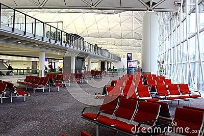 Hong Kong International Airport Editorial Photo