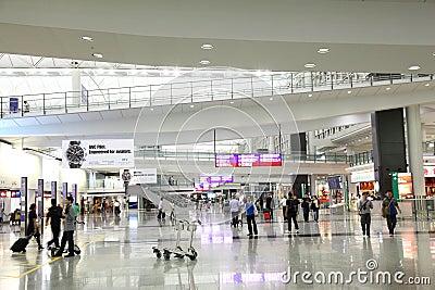 Hong Kong International Airport Editorial Stock Photo