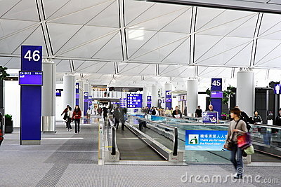 Hong Kong International Airport Editorial Photo