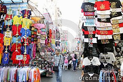 Hong Kong : Ladies Market Editorial Stock Photo