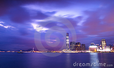 Hong Kong Magic Hour