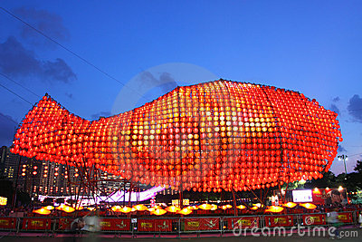Hong Kong : Mid-Autumn Festival 2011 Editorial Image